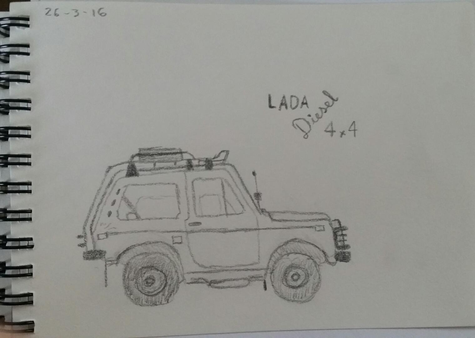 26/3/2016 Lada Niva